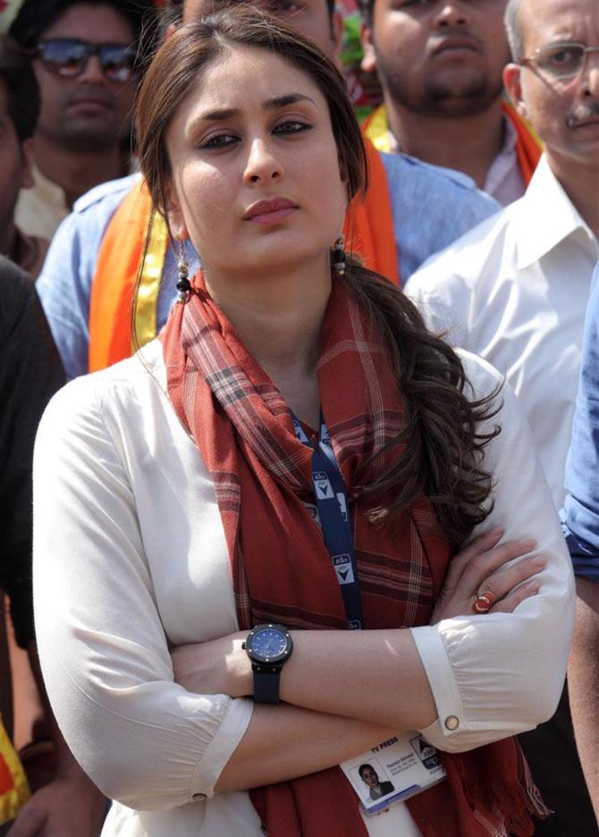 Kareena Kapoor Khan in Satyagraha