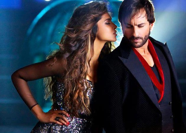 Deepika Padukone and Saif Ali Khan in Race 2