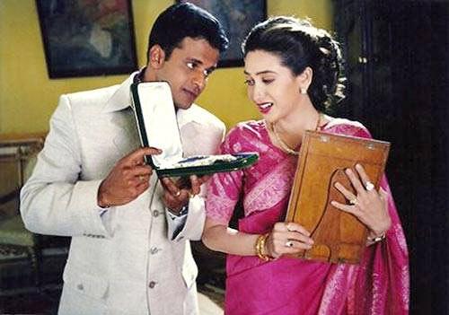 Manoj Bajpayee and Karisma Kapoor in Zubeidaa