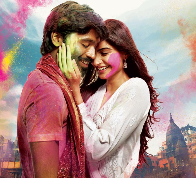 Dhanush and Sonam in Raanjhanaa