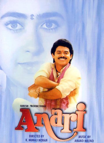 Venkatesh in the poster of Anari