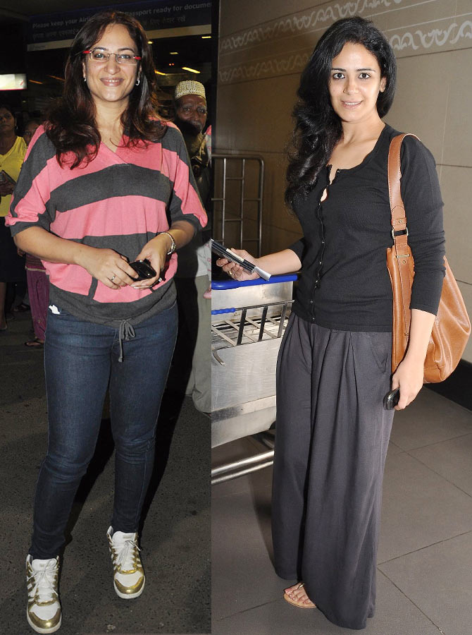 Rakshanda Khan and Mona Singh