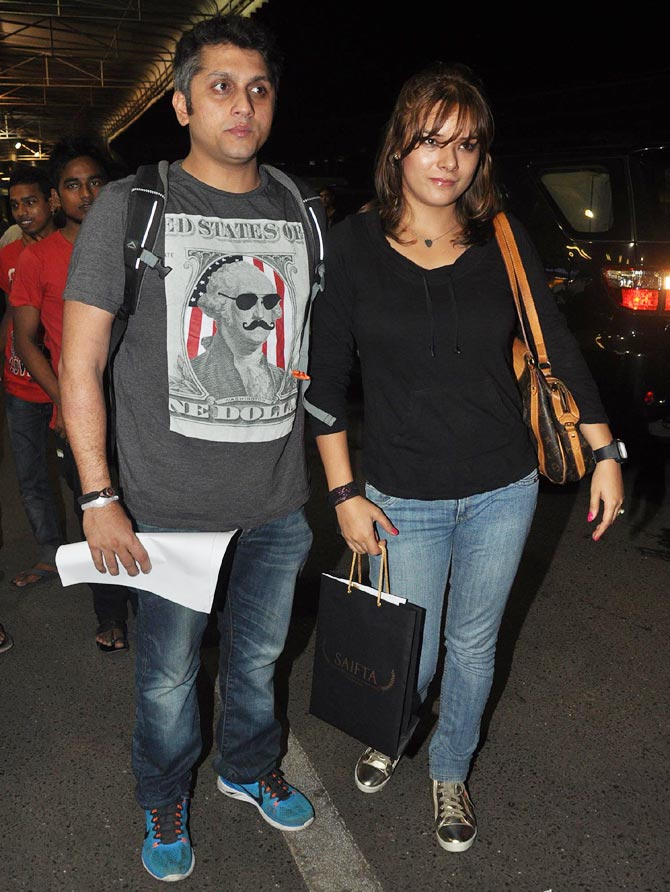 Mohit Suri and Udita Goswani