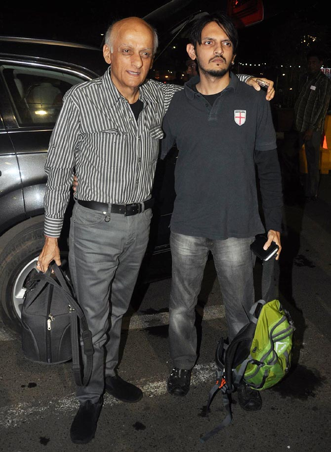 Mukesh and Vishesh Bhatt