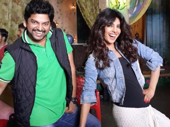 Choreographer Vishnudeva and Priyanka Chopra