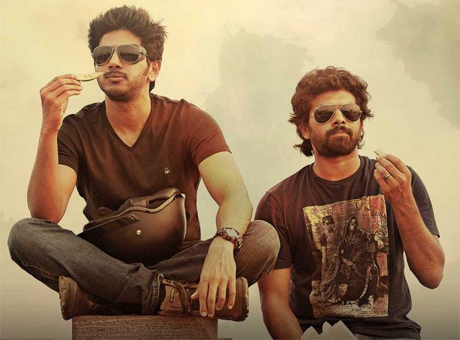 Dulquer Salmaan and Sunny Wayne in Neelakahsham