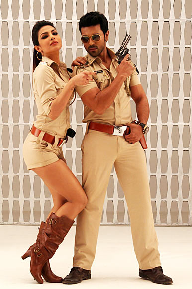 Priyanka Chopra and Ram Charan in Zanjeer