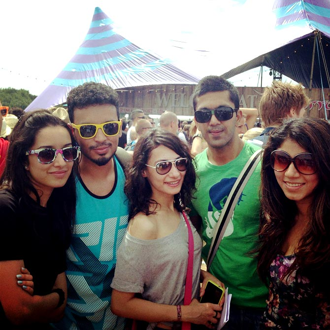 Shraddha Kapoor at Tomorrowland music festival in Belgium