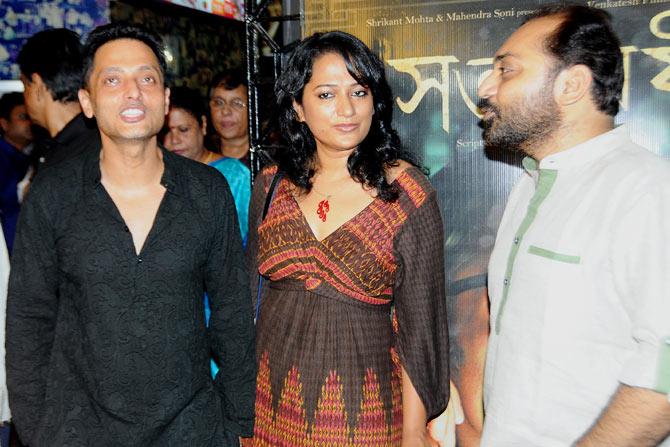 Sujoy Ghosh, Anandi Ghose and Anindya Chatterjee.