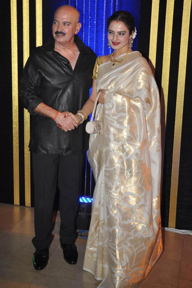 Rakesh Roshan and Rekha