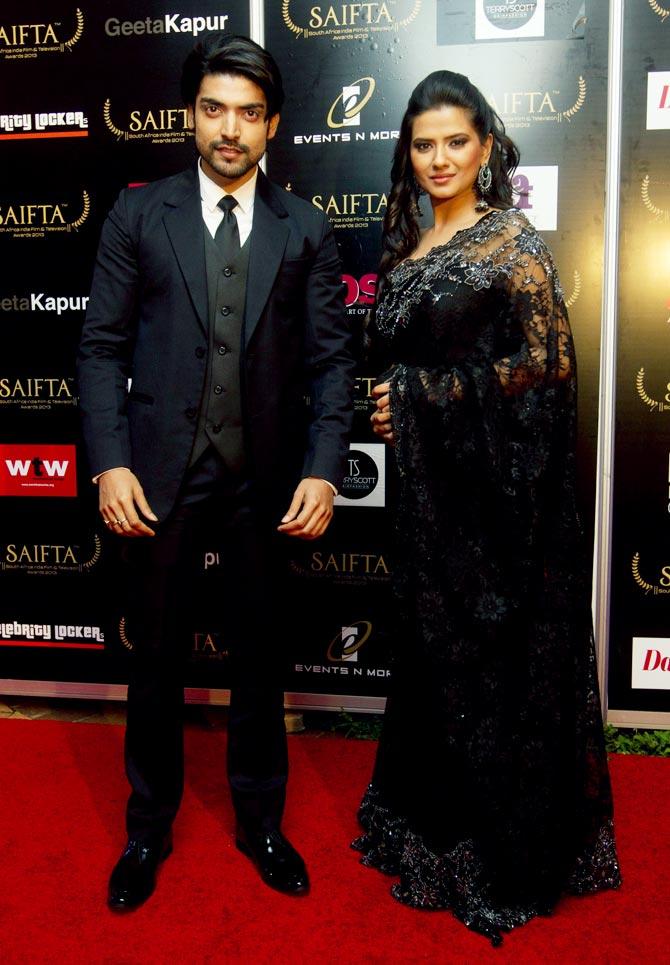 Gurmeet Chaudhay and Kratika Sengar