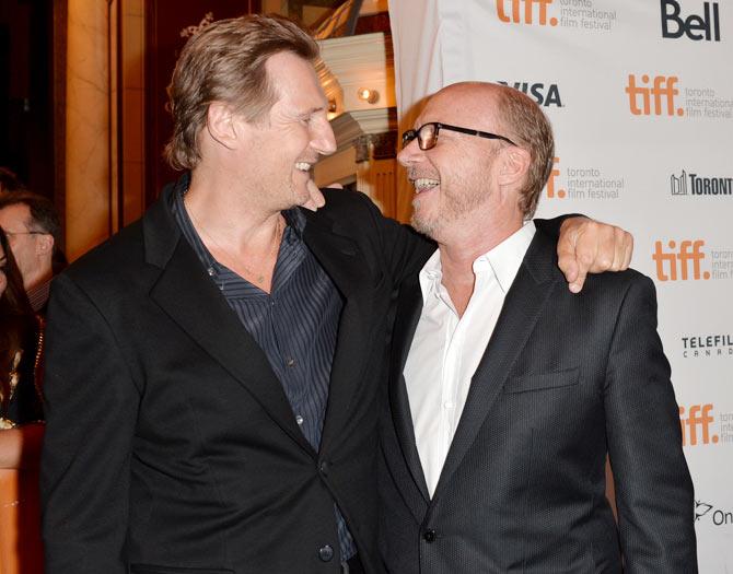Liam Neeson and Paul Haggis