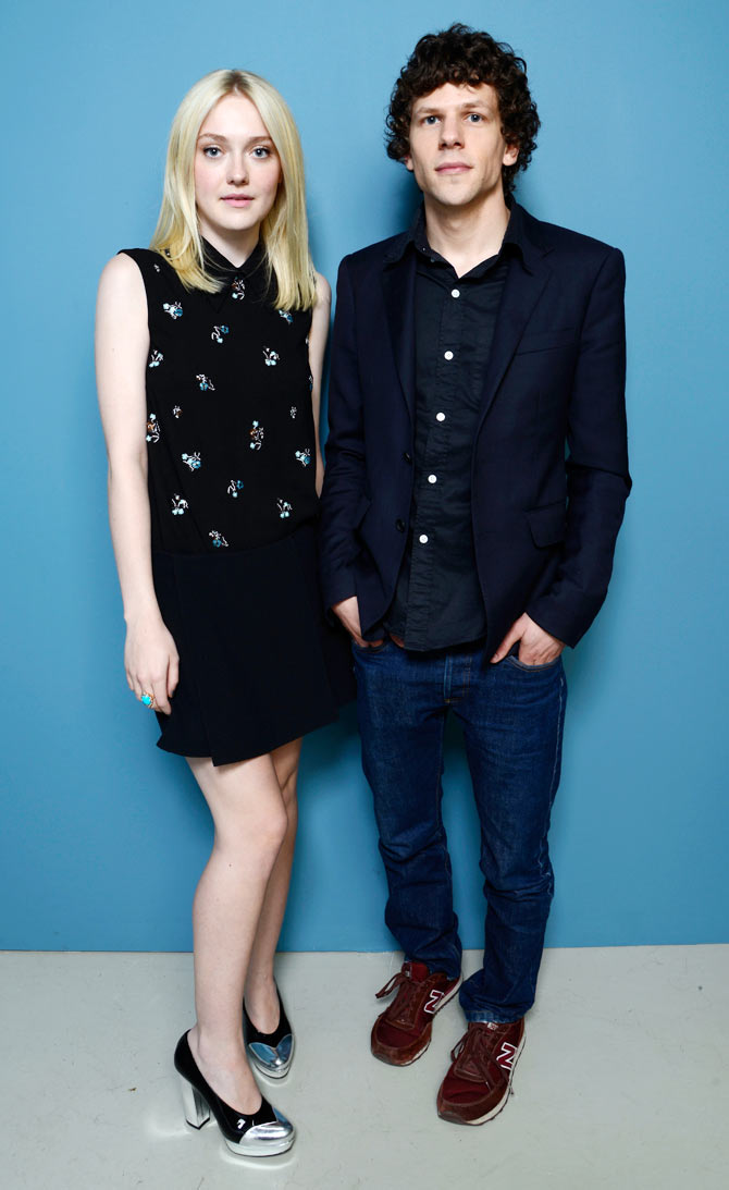 Dakota Fanning and Jesse Eisenberg