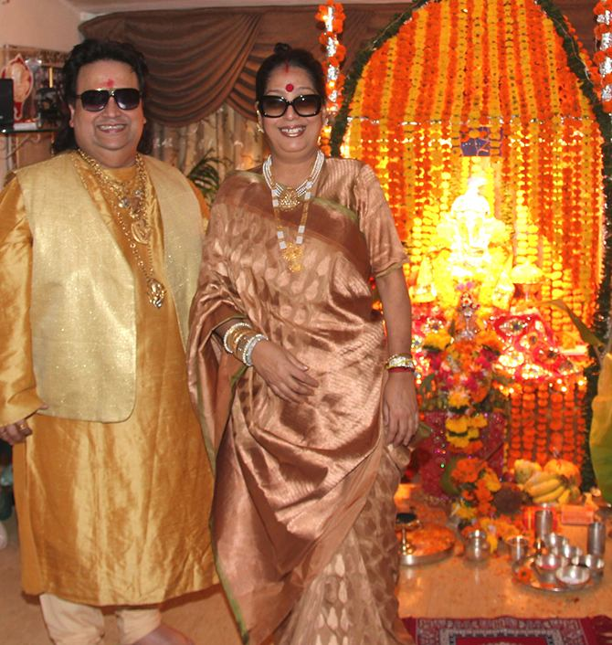 Bappi and Chitra Lahiri