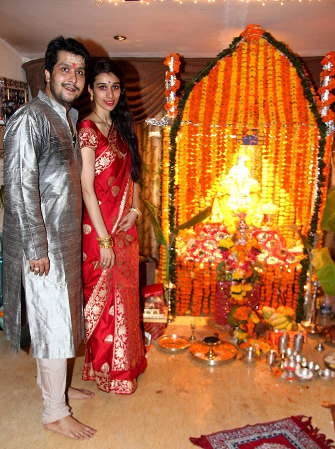 Bappa Lahiri and Tanisha Verma