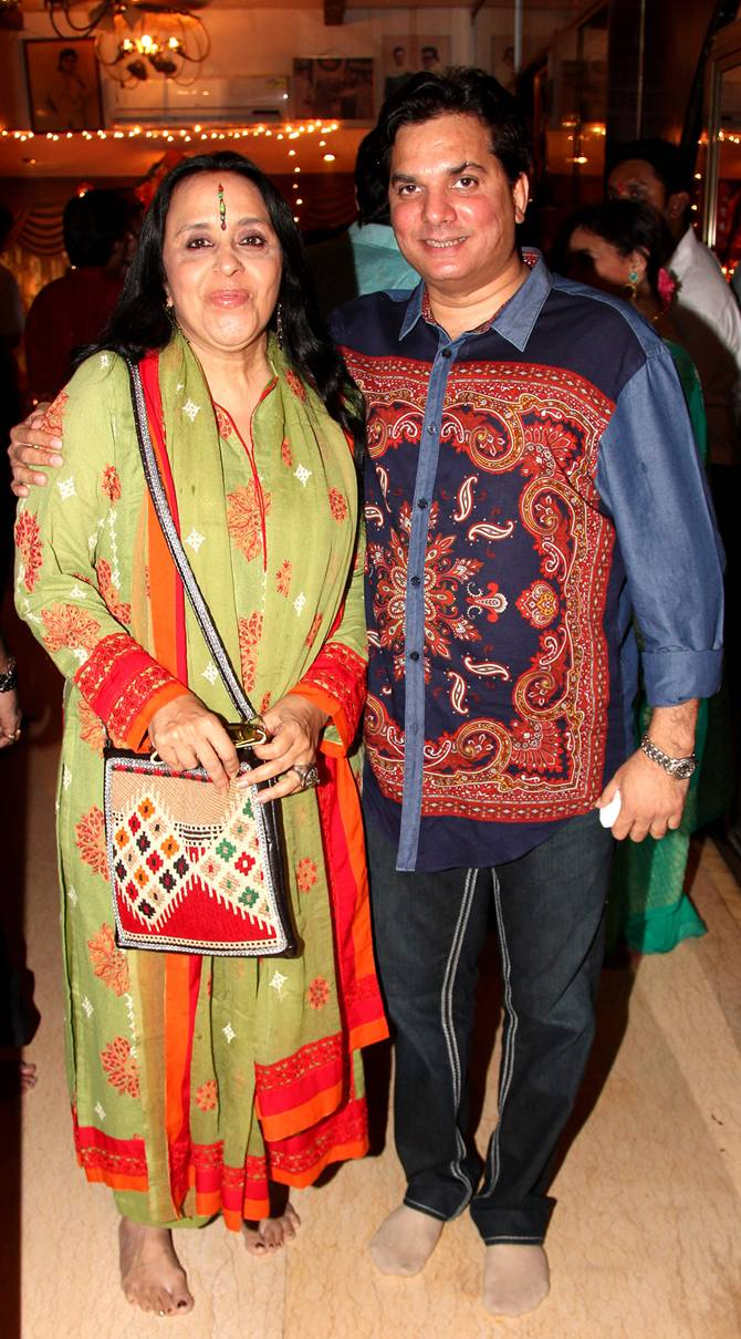 Ila Arun and Lalit Pandit
