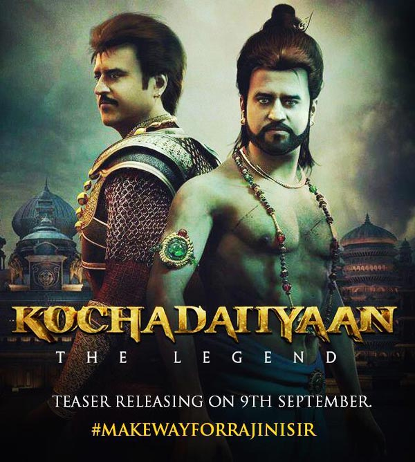The Kochadaiiyaan poster