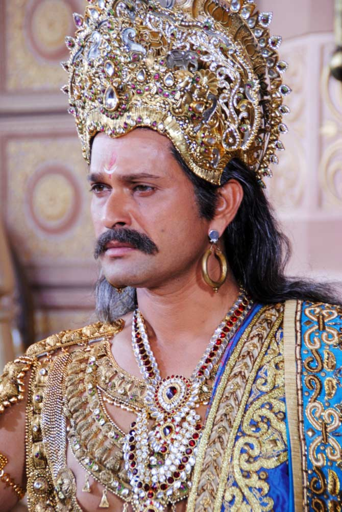 Sameer Dharmadhikari as King Shantanu