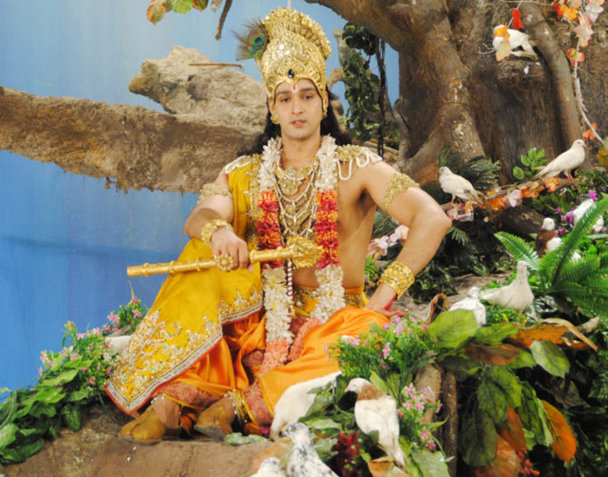 Saurabh Jain as Krishna