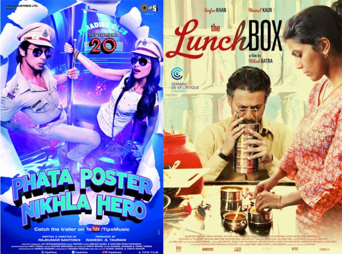 Posters of Phata Poster Nikhla Hero and The Lunchbox