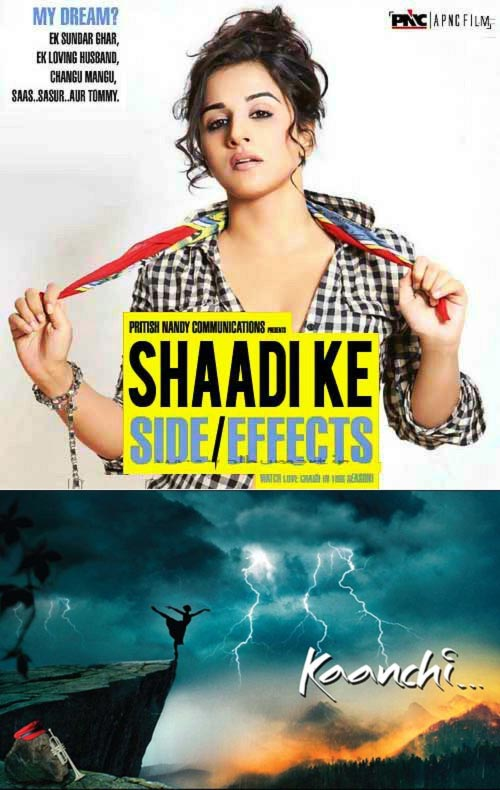 Posters of Shaadi Ke Side Effects and Kaanchi