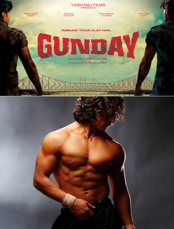 Poster of Gunday and Tiger Shroff