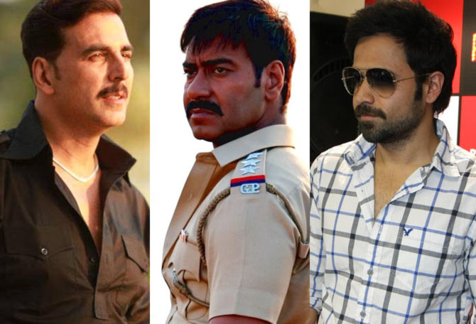 Akshay Kumar, Ajay devgn and Emraan Hashmi
