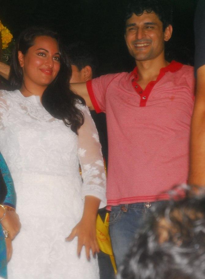 Sonakshi Sinha and Niketan Madhok