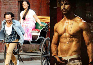 Scenes from Bullett Raja and Rambo Rajkumar