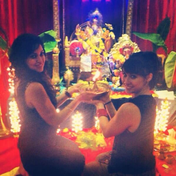 Maryam Zakaria and Lauren Gottlieb
