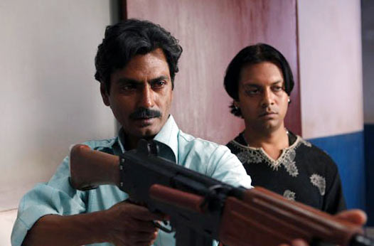 Nawazuddin Siddiqui and Syed Zeishan Quadri in Gangs of Wasseypur 2