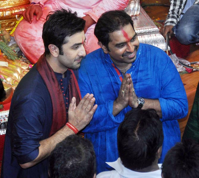Ranbir Kapoor and Shankar Mahadevan