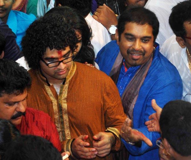 Siddharth and Shankar Mahadevan