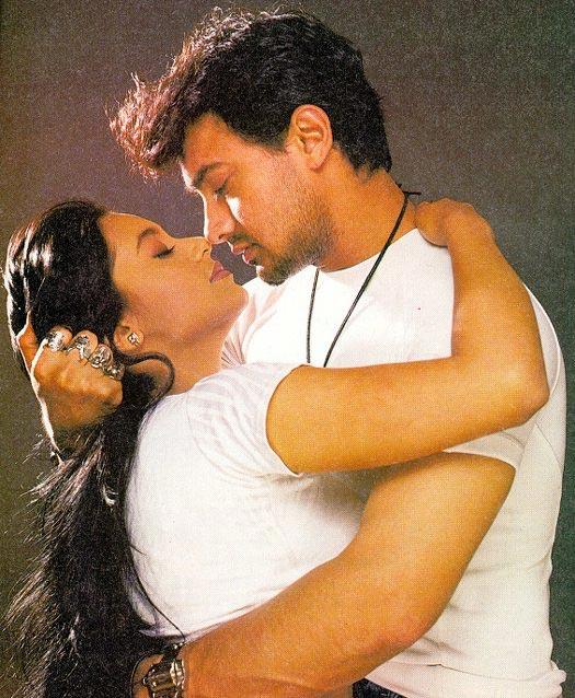 Rani Mukerji and Aamir Khan in Ghulam