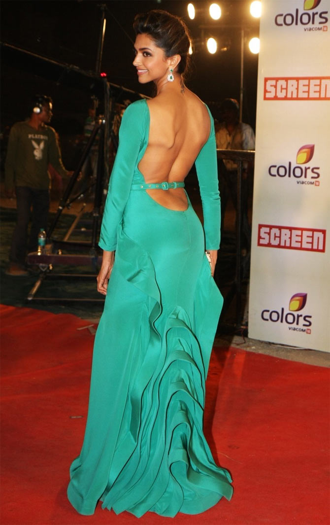 Deepika Padukone at Colors Screen Award