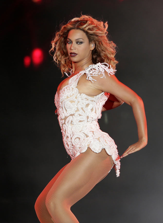 Beyonce performs at the Rio Music Festival