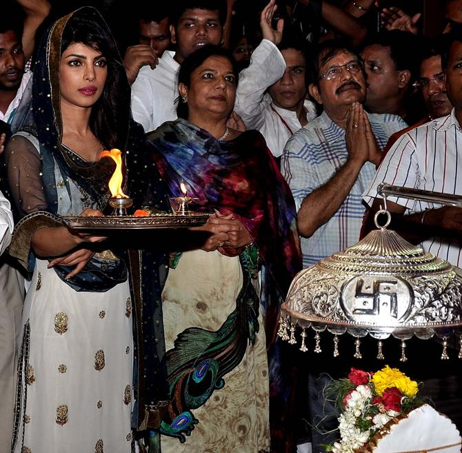 Priyanka and Madhu Chopra