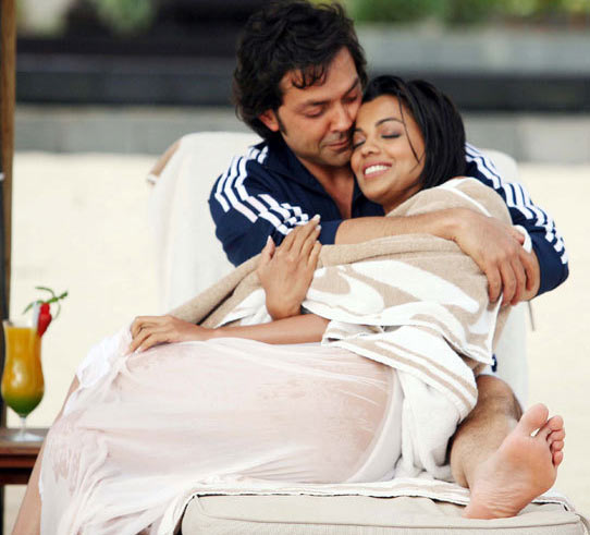 Bobby Deol and Mugdha Godse in Help