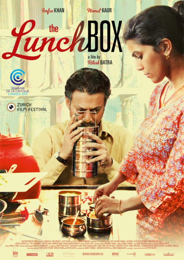 Movie poster of The Lunchbox