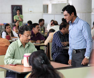 Irrfan and Nawazuddin Siddiqui in The Lunchbox