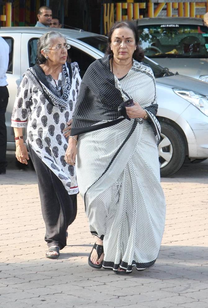 Shammi and Asha Parekh