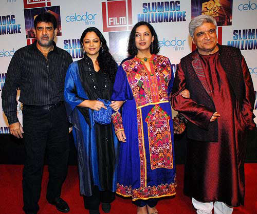 Baba, Tanvi and Shabana Azmi and Javed Akhtar