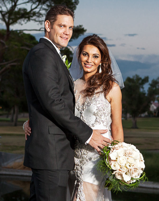 Diana Hayden with husband Collin Dick