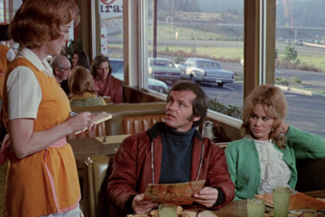 A scene from Five Easy Pieces