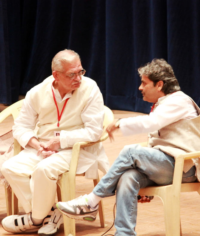 Gulzar and Vishal Bhardwaj