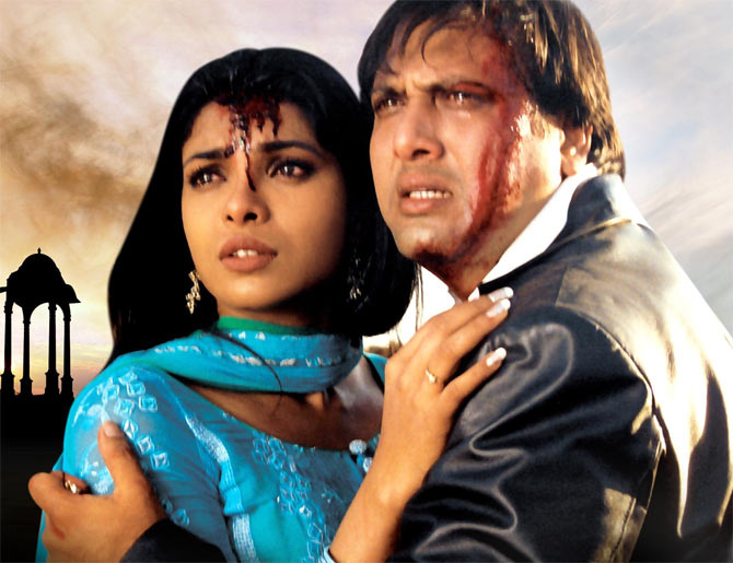 Priyanka Chopra and Govinda in Deewani Main Deewana
