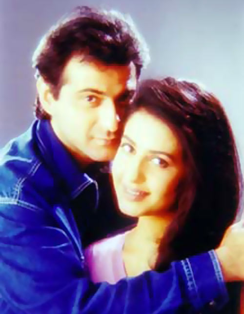 Sanjay Kapoor and Neha in Sirf Tum