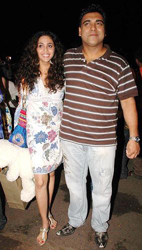 Gautami Kapoor with Ram Kapoor