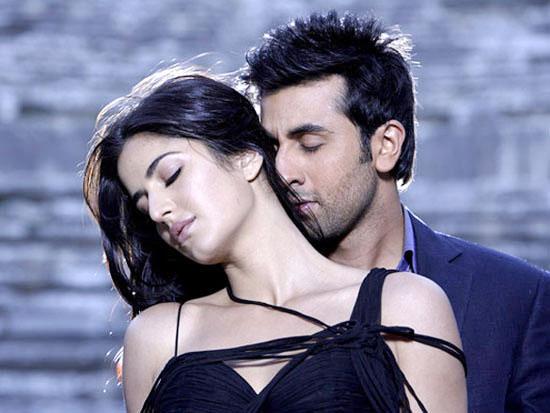 Katrina Kaif and Ranbir Kapoor in Ajab Prem Ki Ghazab Kahani