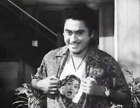 Kishore Kumar in Half Ticket